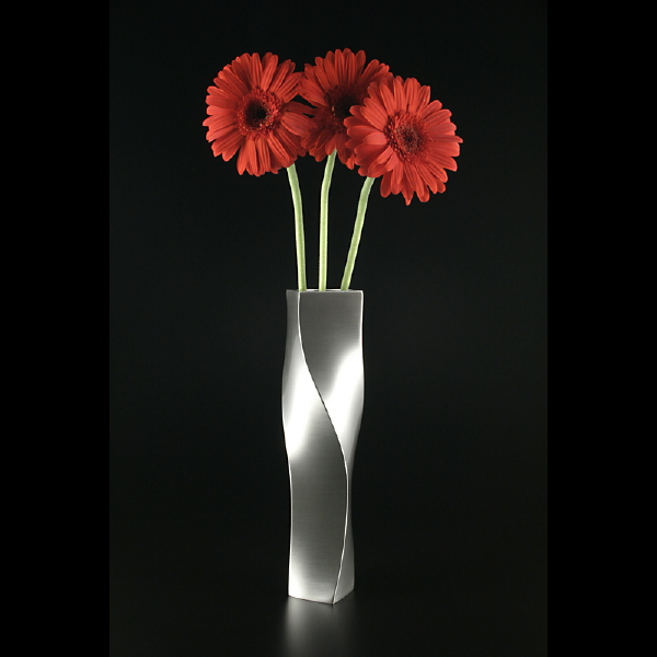 Name:  Spiral with red daisies by Janet Miller.jpg